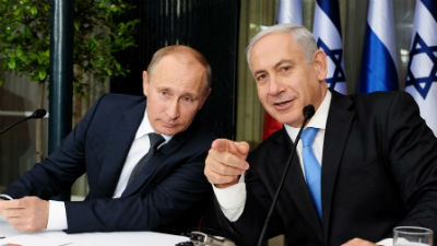 Eric Lee Likens Netanyahu to Putin