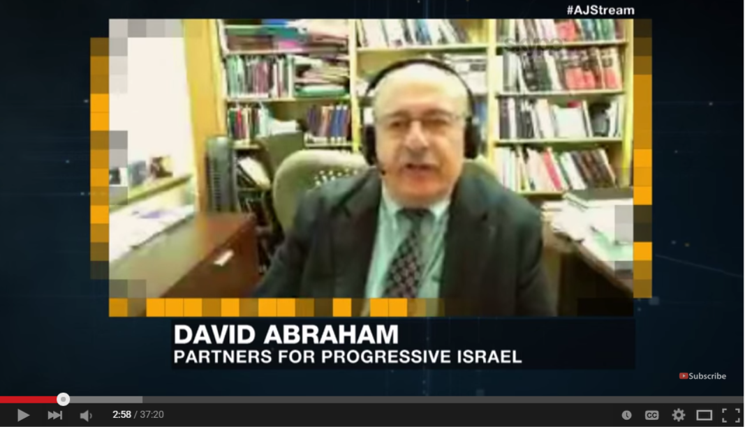 David Abraham on Al-Jazeera debating about BDS