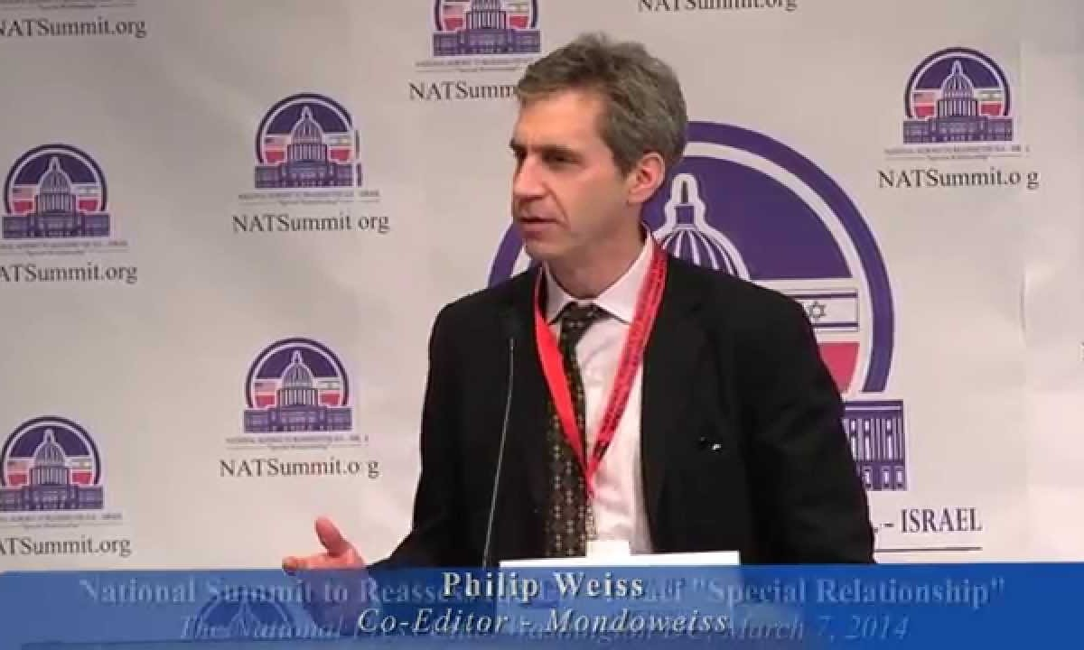 Phil Weiss following Paris terror: 'Zionism' root of all evil (along with Bibi's spin and Salaita's latest screed)